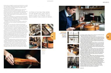 Editorial photographs of J and A Beare in London for Rolls Royce