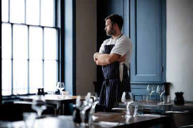 A chef at Plateau Reastaurant in Brighton