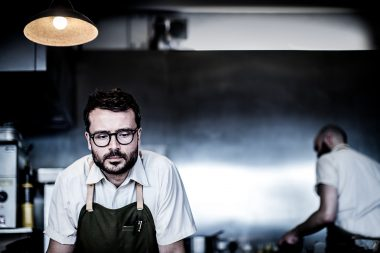 A portrait of the chef Christian Puglisi in London