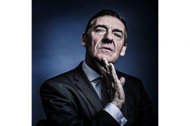 Jim O'neill photographed in London for Forbes Magazine Japan