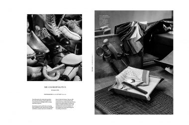 Photographs of mens products for a London magazine