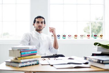 Photographic portrait of London chef Jozef Youssef