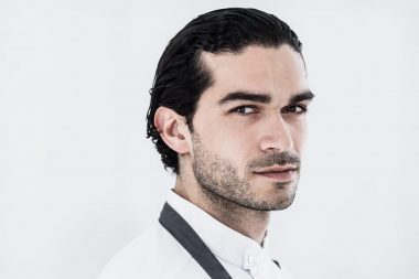 Portrait of London chef Jozef Youssef