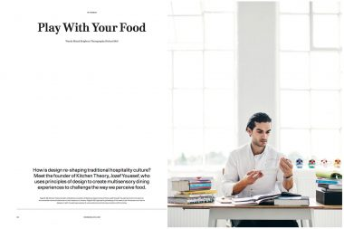 A portrait of Jozef Youssef of Kitchen Theory in London