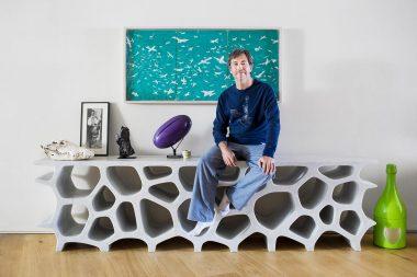 Portrait of designer Marc Newson in London