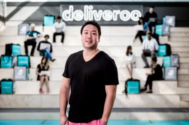 Photographic-portrait-of-William-Shu-of-Deliveroo-in London