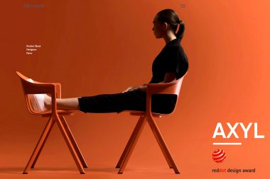 A-woman-sat-on-orange-chairs-on-the-Allermuir-website