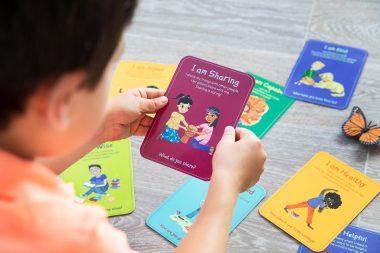 children-affirmation-card-photography