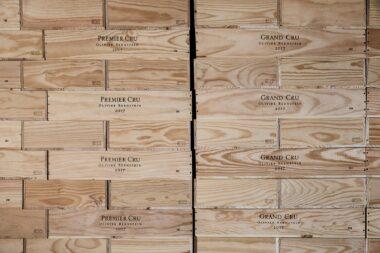 boxes-of-olivier-bernstein-premier-cru-and-grand-cru-burgundy-in-beaune-france