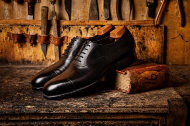 black-mens-shoes-photographed-for-john-lobb-london